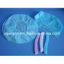 Einmalige, nicht gewebte Chirurgische Kappe mit freier Größe
