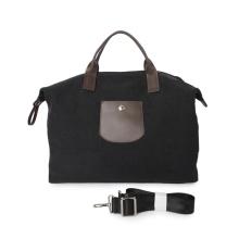 Вневременные холщовые и кожаные дорожные сумки на выходные