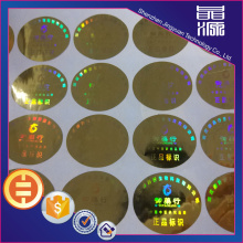 Competitive Security Label 3D Hologram Sticker