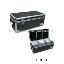 alta calidad y fuerte 720 CD discos aluminio caja CD por mayor