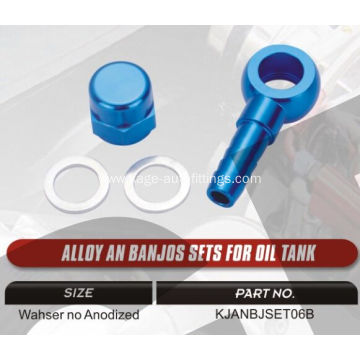 Banjo fittings for fuel tanks