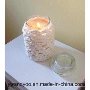 Cumpleaños de vela de cera de soja perfumada en Matro Jar