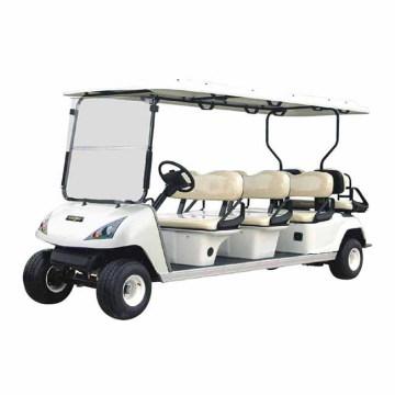 O OEM personaliza o carrinho de golfe elétrico de 8 assentos (DG-C6 + 2) com Ce