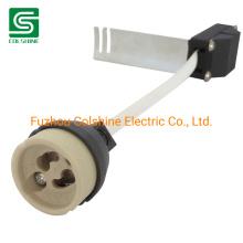 Ceramic GU10 Spotlight Lamp Holder GU10 Socket Connector with Bracket