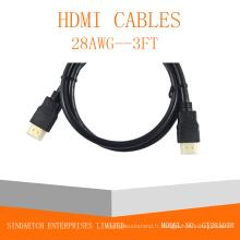 Câble HDMI haute vitesse 1.3V / 1.4V / 2.0V