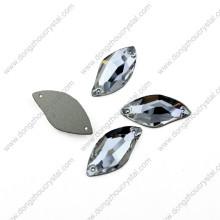 Dongzhou Flat Back cose en diamantes de cristal planos por mayor