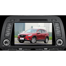Android 4.4 DVD del coche con Bluetooth, MIRROR-CAST, AIRPLAY, DVR, juegos, zona dual, SWC para Mazda CX-5 2014