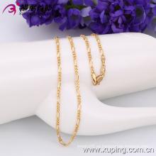 Xuping Moda Oro 18k Color Primaria-Secundaria Collar (42517)