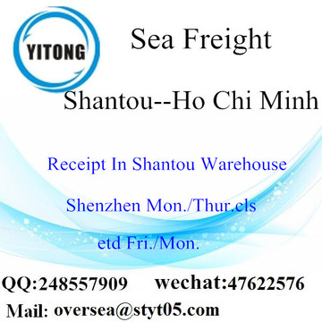 Shantou Port LCL Consolidation To Ho Chi Minh