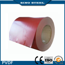 PVDF Prepainted Aluminum Steel Coil with Film Coating