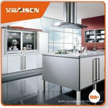 Fábrica de precios razonable y aceptable directamente muebles de cocina prefabricados para el mercado de Canadá