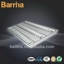 3X28w T5 recessed fluorescent grid lamp embeded mounted