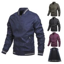 Jaquetas de beisebol forradas de lã com grande promoção, personalizadas