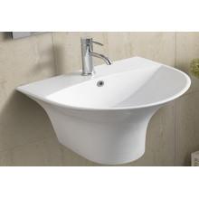 Ceramic Wall Hung Bathroom Basin (5300b)