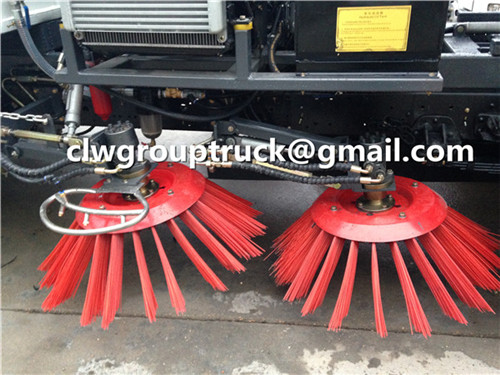 Sweep Plate Of Sweeper Truck