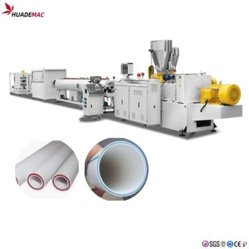 PVC 3 layer co-extrusion production line