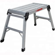 Tool Professional Aluminium Drywall Bench Adjustable Lift Step Workbench