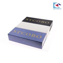 Sencai conception libre paquet haut de gamme unique personnalisé bracelet de montre rectagnle boîte de papier