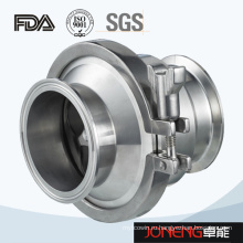 Нержавеющая сталь с санитарным зажимным зажимным клапаном (JN-NRV1006)