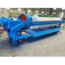 Filtro prensa de deshidratación de lodos para tratamiento de aguas residuales