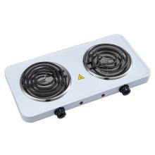 Electric Double Coil Burner Adjustable Temperature Control