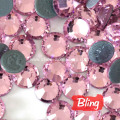 Bling Bling Hot-Fix Rhinestones Light Rose
