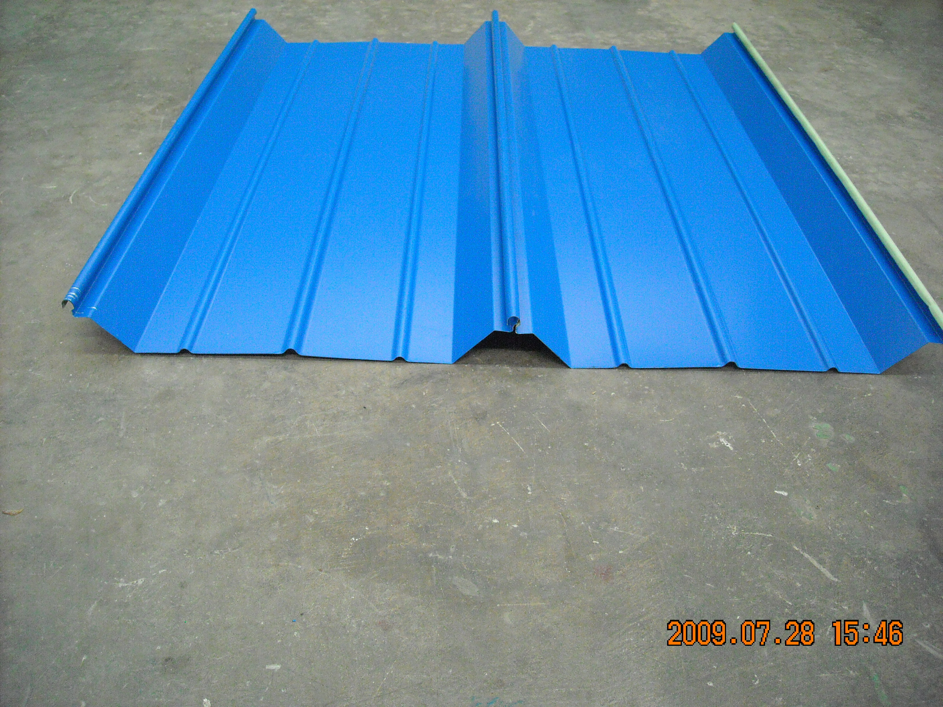 IBR Roof Panel Roll Forming Line