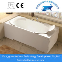 White Jetted Whirlpool Tub