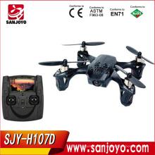 Hubsan х4 H107D с fpv rtf с видео RC беспилотный quadcopter с камерой fpv-очков х4 конечно плюс h107d RC горючего