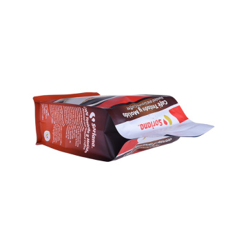 125g 250g 500g 1kg Aluminium Foil Flat Bean Coffee Bags Bag With Valve
