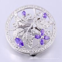 Broschen Frauen Shinning Blume Schal Clip Brosche