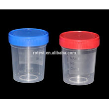 disposable male urine container / urine collector