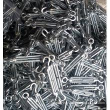 Fastener DIN 1480 Malleable Steel Turnbuckle Rigging Hardware