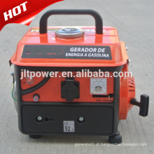 Gerador portátil de gasolina de 2 tempos de 650w