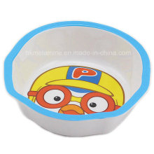 Kids Melamine Bowl with Logo (BW7002)