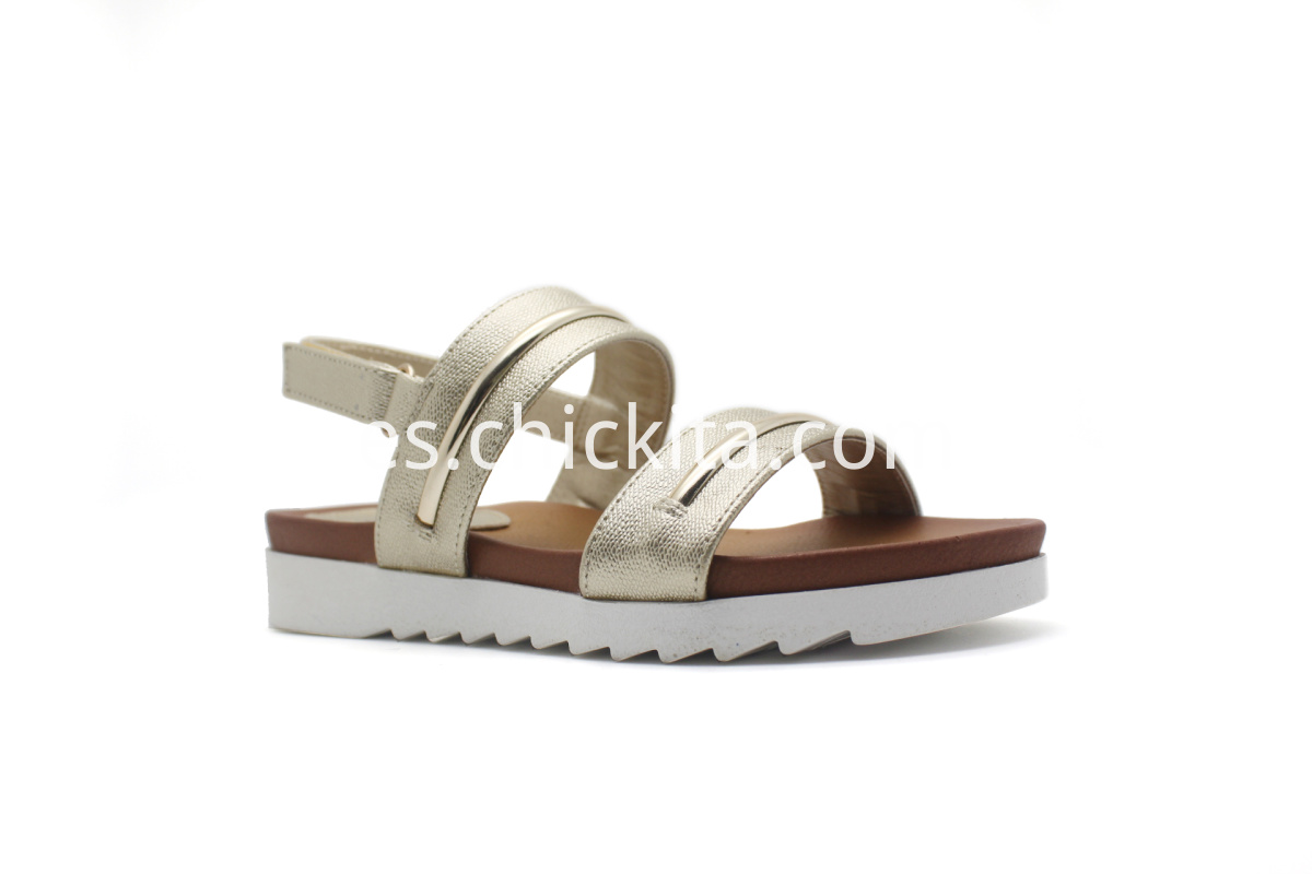 Summer series white bottom comfort sandals
