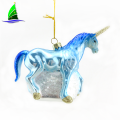 Venta al por mayor Unicorn Shape Hangings Christmas Unicorn