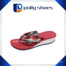 Girls Beach Flip Flops Platform Wedge Heel Pumps Slippers