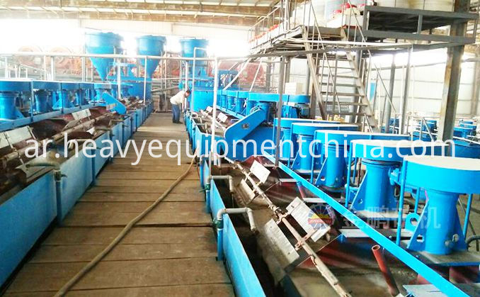 Copper Mine Flotation Plant