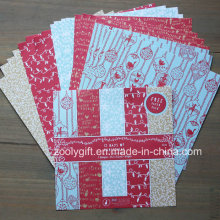 "Natal DIY Scrapbooking 6X6 ""Patterned Paper Pack Papel Handmade Scrapbook"