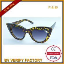 Новый дизайн тенденции солнцезащитные очки для леди, FDA & Ce (F15185)