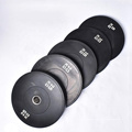 competition bumper plate color weight lifting rubber bumper plate