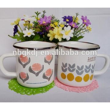 8cm(350ml)enamel mug under high quality