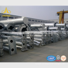 Diseño de Estructuras de Poleas de Transmisión de Acero