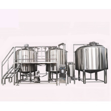 1000L 3 Vessel beer brewery project for beer plant