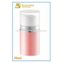 Botella airless cosmética cosmética del nuevo modelo pp, botella airless cosmética de la bomba 50ml / 100ml para la promoción