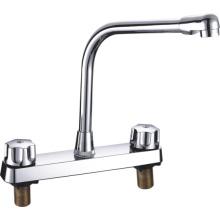 Misturador de torneira de cozinha ABS com duas alças (JY-1026)
