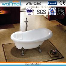 Классическая Отдельностоящая ванна с clawfoot