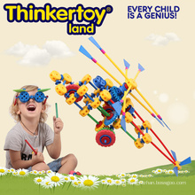 Helicopter Model Education Toy for Children Building Blocks