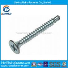 DIN7504-P Flat Head Phillips Drive Self Drilling Screw